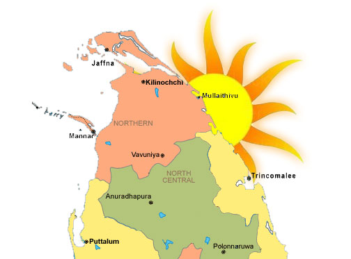 165 Sinhala families settled in Tamil village