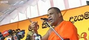 Bodu Bala Sena, or Buddhist Strength Force- pic via BBC