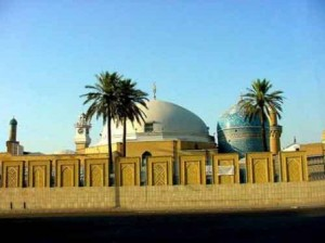 Mazar Shairf of The Great Sufi Saint MuhiUddeen Abdul Qadir Jilani (RA)  of Baghdad