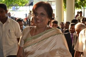 President Chandrika Kumaratunga - Mar 30, 2013
