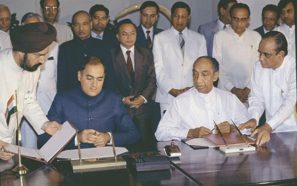 Signing of the Accord