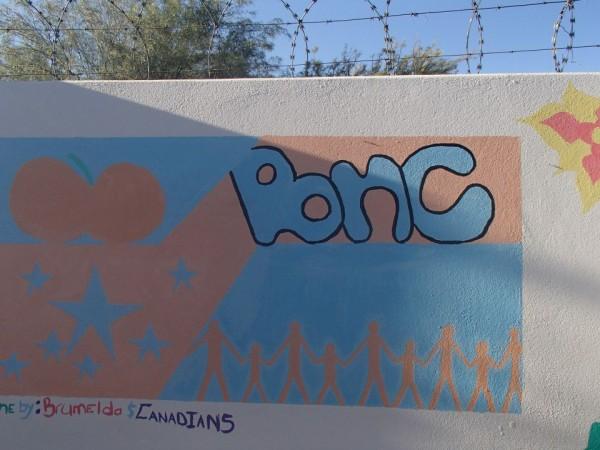 a Mural at BNC