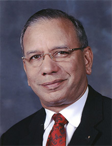 """K.R. """"Ravi"""" Ravindran is the selection of the Nominating Committee for President of Rotary International in 2015-16-pic: Rotary.org"""