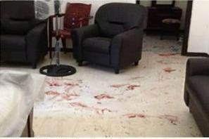 scene inside the living room-pic: lankaEnews.