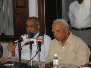 Justice C.V. Wigneswaran and R. Sampanthan MP