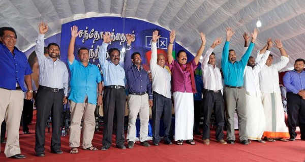 UPFA Provincial Council Election Campaign Rally, Mannar-pic: News.lk