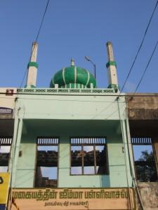Muhaitheen Jumma Mosque in Chavakachcheri, Jaffna-picture by Dushiyanthini Kanagasabapathipillai