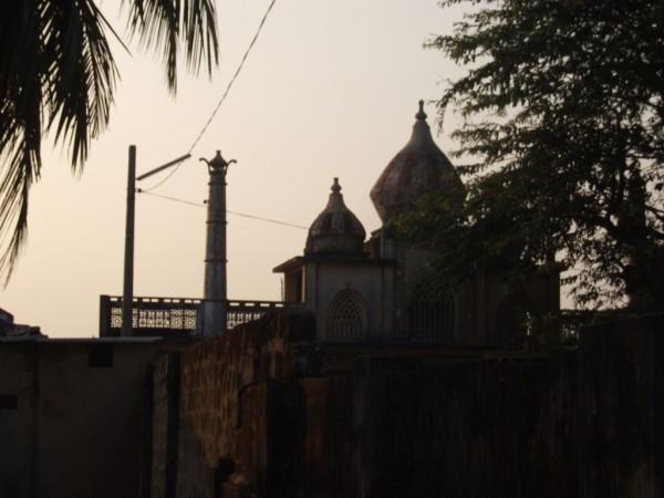 Magnificent sunset in Muslim neighbourhood in Jaffna-Feb 2011-Pic by: Dushiyanthini Kanagasabapathipillai