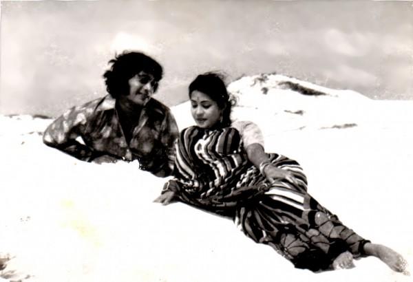 Semiyon (AE Manoharan) and Philomina (Chandrakala)