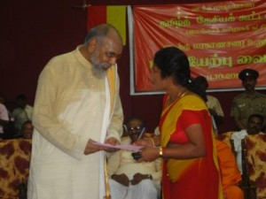 A word with Chief Minister C.V. Wigneswaran