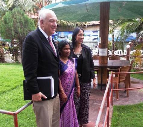 Amb Sison and Amb Rapp meet NPC member Ananthi Sasitharan-pic via:  twitter.com/USEmbSL