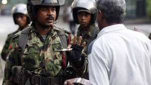 Security operations in Jaffna-file pic courtesy of: malarum.com