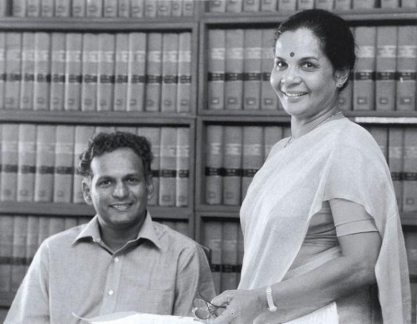 Sithie Tiruchelvam and Neelan Tiruchelvam-pic courtesy: The Hindu