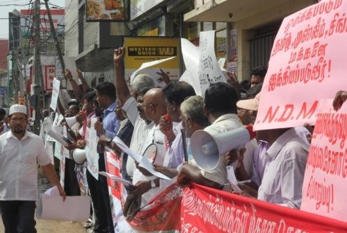 Demonstration in Jaffna-pic: TamilWin