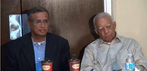 TNA Parliamentarians  M.A. Sumanthiran MP and R. Sampanthan MP