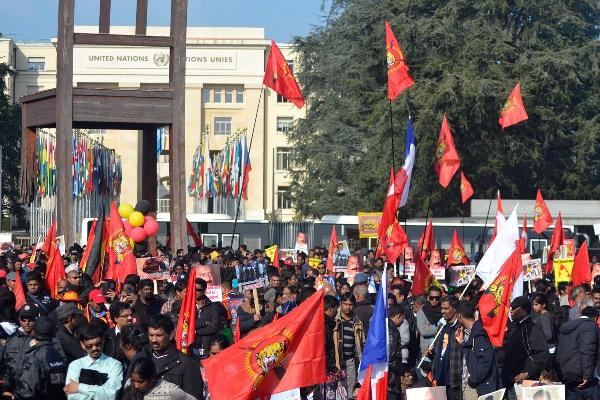 Tamil rally in Geneva-Mar 10, 2014