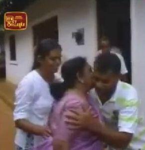 Mrs. Amirthalingam Visiting Nissanka Thibbotumunuwa