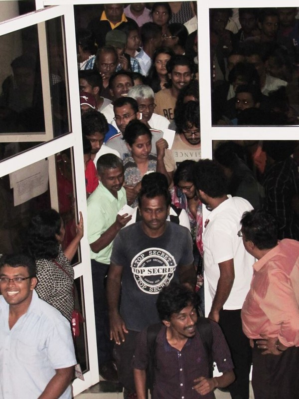 Fans at IFFCOLOMBO