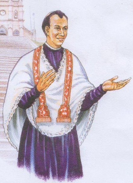 Blessed Father Vaz (1651-1711)-pic courtesy of: AsiaNews.it