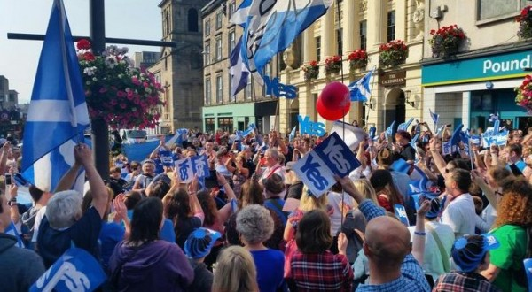 Rally in Inverness-pic via: