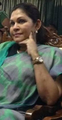 Rosy Senanayake-pic via: facebook.com/rosy.senanayake.9
