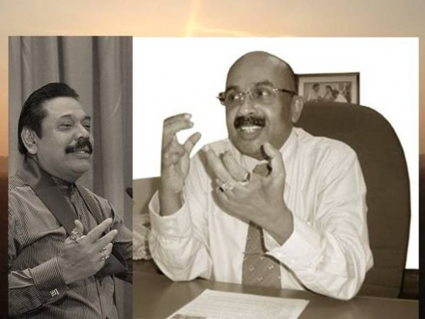 President Mahinda Rajapaksa & Astrologer Sumanadasa Abeygunawardena