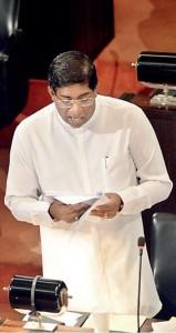 """Robin Hood"" Mini-Budget presentation by Finance Minister Ravi Karunanayake"