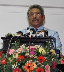 Ex-Def Secy Gotabhaya Rajapaksa