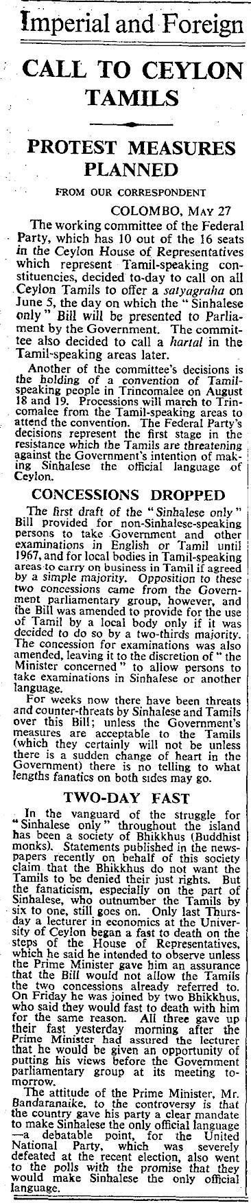 Times UK-28 May, 1956