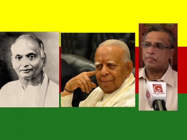 Dr. EMV Naganathan, R Sampanthan & MA Sumanthiran