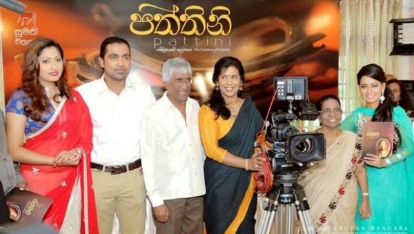 Left to Right. Aruni Rajapakse, Uddika Premaratna , Sunil Ariyaratne, Veena Jayakodi, Milina Sumathipala and Pooja Umashankar-pic: newsindianexpress