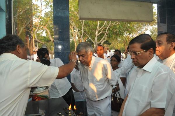 In Katharagama-facebook.com/ranil.wickremesinghe.leader