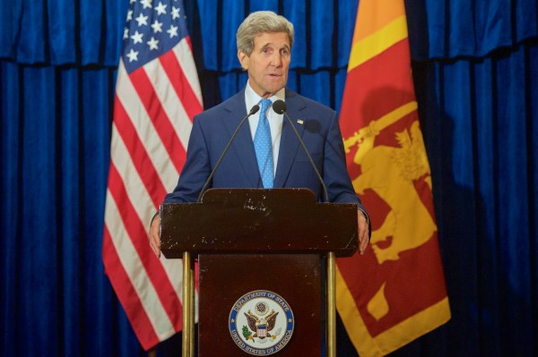 Secretary Kerry Delivers Speech on U.S.-Sri Lankan Relations in Colombo-pic: US State Dept.