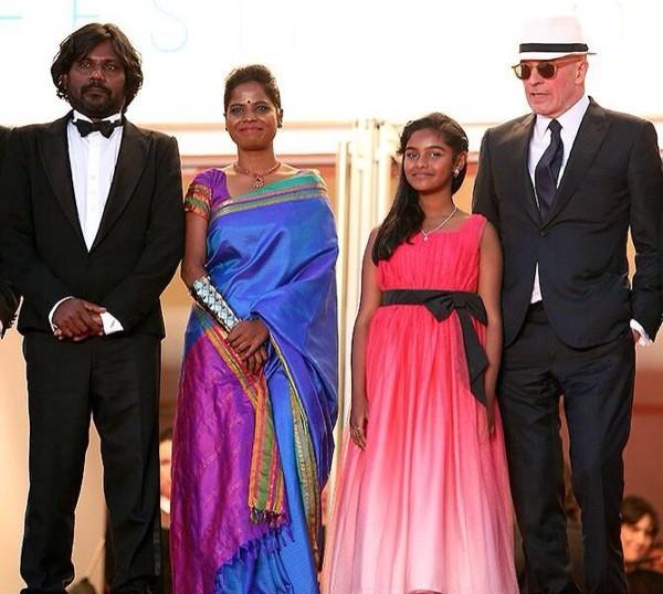 Anthonythasan Jesuthasan (Shobasakthi),  Kalieaswari Sreenivasan, Claudine Vinasithamby and Jacques Audiard