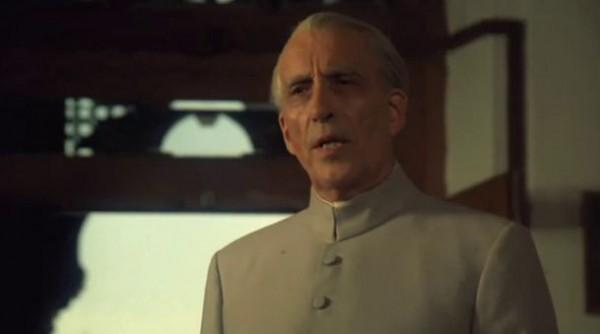 Sir Christopher Lee as Muhammed Ali Jinnah