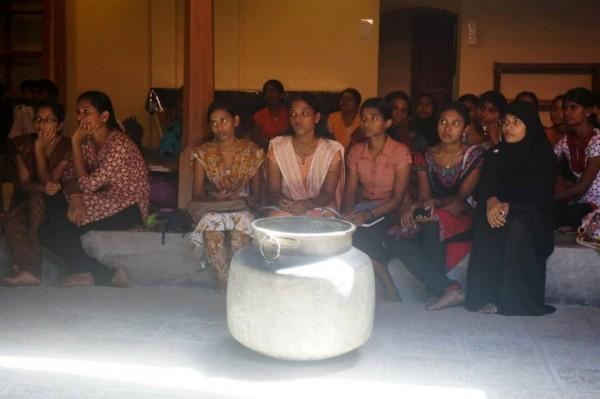 Students of Jaffna University