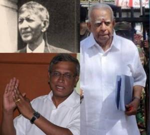 SJV Chelvanayagam, Rajavarothayam Sampanthan & MA Sumanthiran
