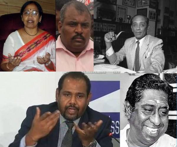 Padmini Sithambaranathan, Gajendran, GG Ponnambalam, Kumar Ponnambalam & Gajendrakumar Ponnambalam