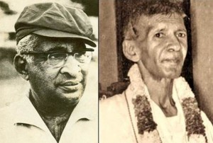 Dudley  Senanayake & SJV Chelvanayagam