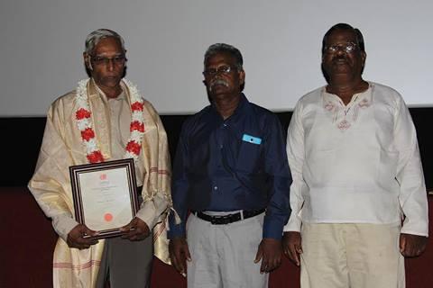 Athanas Jesurasa received the Life Time Achivement Award