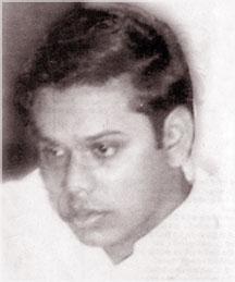 Young Mahinda Rajapaksa