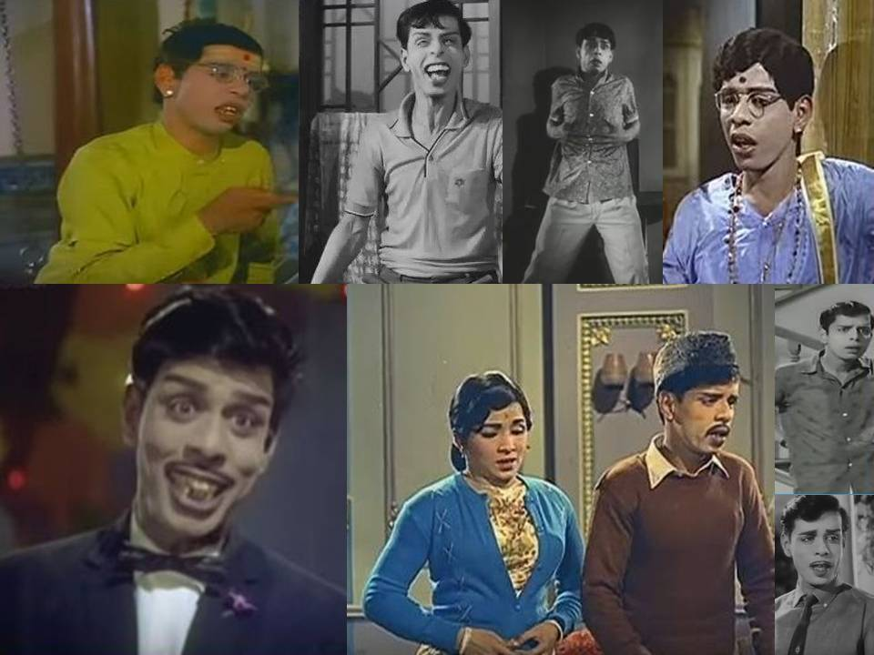Profile of Actor Nagesh - Tamil Movie Data Base of
