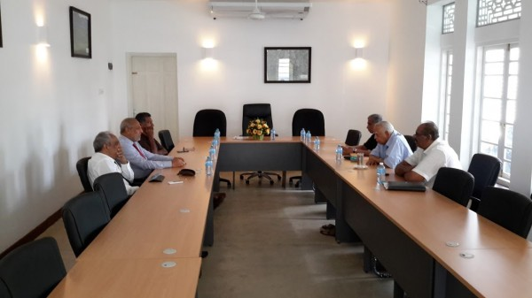 'First Round round of talks of TNA & SLMC leaders on Tamil & Muslim aspirations in proposed Sri Lanka constitutional changes '