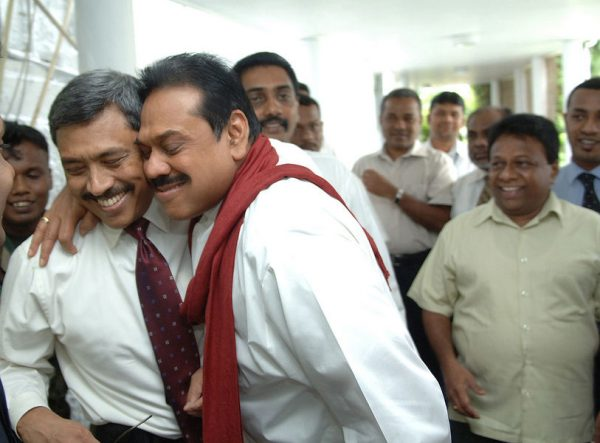 pic by Office of President Manhinda Rajapaksa