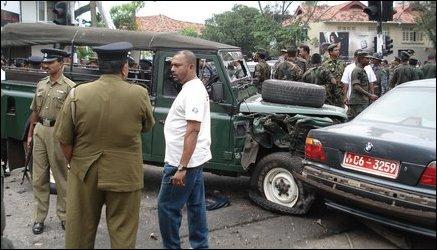 Gotabhaya Rajapaksa in BMW