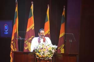President Mahinda Rajapaksa at IACPP~Sep 2016