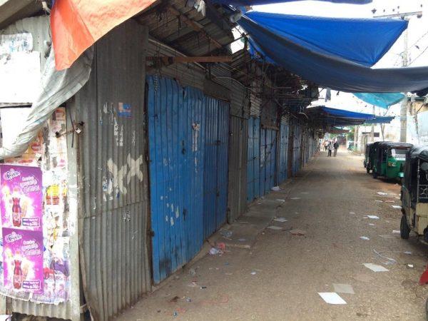 Hartal in Jaffna - pic: @tharinduij