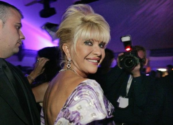 Ivana Trump smiles at her belated birthday party at the Pangaea Soleil club during the 59th Cannes Film Festival in Cannes May 24, 2006. REUTERS/Mario Anzuoni