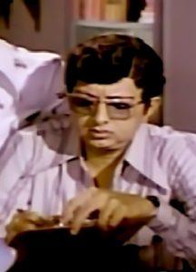 "Cho in Tamil movie ""Arilirunthu Arupathu Varai"""